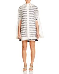 Moncler   Jarret Clear Hooded Cape   Lyst