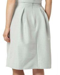 Dorothy Perkins - Jacquard A-line Skirt - Lyst
