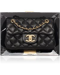 Madison Avenue Couture - Chanel Limited Edition Vip Black Frame Bag - Lyst