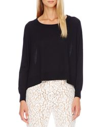 Kors By Michael Kors Arched-hem Knit Sweater - Lyst