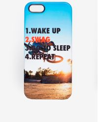 Asos Iphone 5 Cover with Swag Print - Lyst