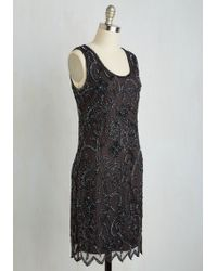 Pisarro Nights - Your Plaza Or Mine? Dress In Pewter - Lyst