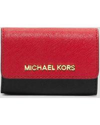 MICHAEL Michael Kors Coin Case - Jet Set Travel Colorblocked - Lyst