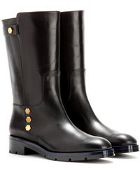 Tod's Leather Boots - Lyst