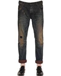 Diesel 17cm Krayver Stretch Denim Jeans - Lyst