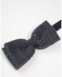 Minimum - Knitted Bow Tie - Lyst