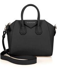 Givenchy   Antigona Mini Leather Satchel   Lyst