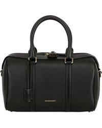 Burberry Medium Alchester Leather Top Handle Bag - Lyst