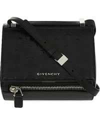 Givenchy Mini Pandora Leather Box Satchel Bag - For Women - Lyst