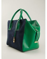 Stella McCartney Blue Cavendish Tote - Lyst