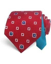 Happy Ties - Medallion Classic Tie - Lyst