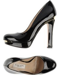 Gianni Marra Black Pump - Lyst