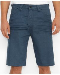 Levi's 569 Line 8 New Woad Refined 3d Loosefit Shorts - Lyst