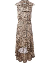 Jean Paul Gaultier Printed Bikerstyle Dress - Lyst