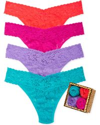 Hanky Panky Holiday Leopard Box Original Rise 4-pack 48leo4pk - Lyst