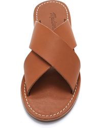Madewell - The Sightseer Slide Sandals - Etruscan Clay - Lyst