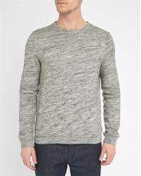 American Vintage | Mottled-grey Sweatshirt | Lyst