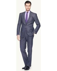 Ralph Lauren Black Label Pin Dot Anthony Suit - Lyst