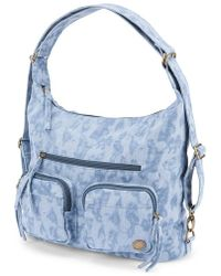 Volcom - 'Outta Town' Convertible Backpack Purse - Lyst