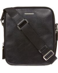 Michael Kors Maya Leather Small Flight Bag Black - Lyst