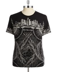 Guess Graphic Crewneck Tee - Lyst