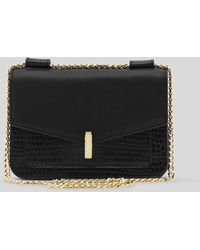 Reiss Shoulder Bag - Elliott Lock Chain - Lyst