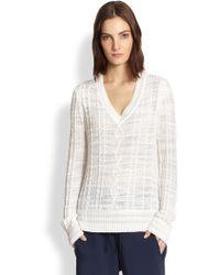 Rag & Bone Shana Cable-Knit Sweater - Lyst