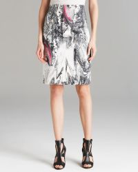 Rachel Roy Printed Pencil Skirt - Lyst