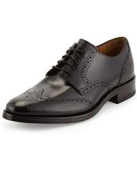 Cole Haan Madison Wing Tip Oxford Lace-Up - Lyst