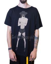 Yohji Yamamoto | Black Yohji T-shirt | Lyst