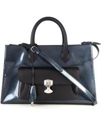 Balenciaga Padlock Work Xs Leather Shoulder Bag - Lyst