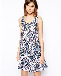 Y.a.s Saya Printed Dress - Lyst