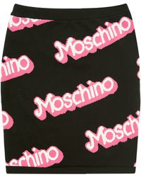 Moschino Knit Skirt  - Lyst