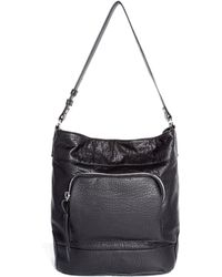 Asos Casual Bucket Bag with Chunky Zip - Lyst