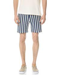 Gant Rugger - Striped Shorts - Lyst