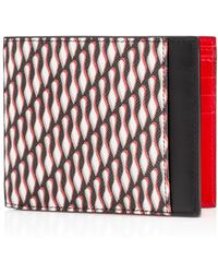 Christian Louboutin Kaspero Wallet red - Lyst