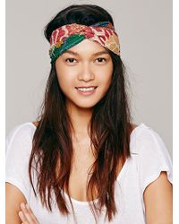 Free People Kantha Crossover Headband - Lyst