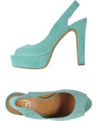 Ash Green Sandals - Lyst