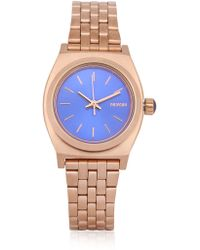 Nixon The Small Time Teller Watch - Lyst
