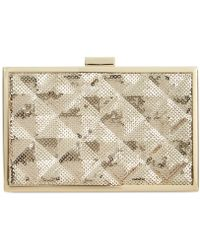 Inc International Concepts Quilted Minaudiere - Lyst