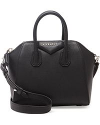 Givenchy Antigona Mini Sugar Crossbody Bag Black - Lyst