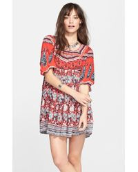 Free People 'Snap Out Of It' Print Dress - Lyst