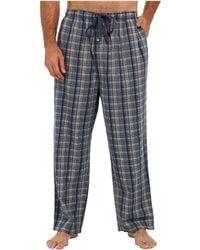 Tommy Bahama Big Tall Seersucker Caspian Plaid Lounge Pants - Lyst