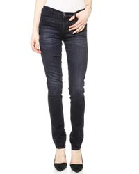 MiH Jeans The Oslo Jeans  Black Sky - Lyst