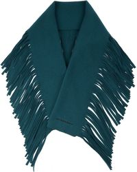 Burberry Prorsum - Fringed Wool And Cashmere-blend Scarf - Lyst