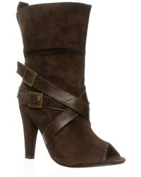Charles by Charles David   Hustle Open Toe Boot   Lyst