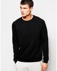 Asos Sweatshirt with Raglan Sleeves - Lyst