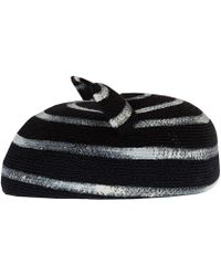 Eugenia Kim Black Caterina Cat Ear Hat - Lyst