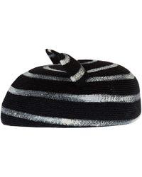 Eugenia Kim Black Caterina Cat Ear Hat black - Lyst