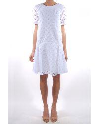 Kenzo Flying Short Sleeve Dress - Lyst